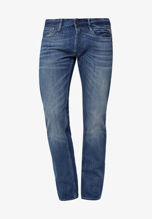 NEWBILL - Jeans a sigaretta - blau