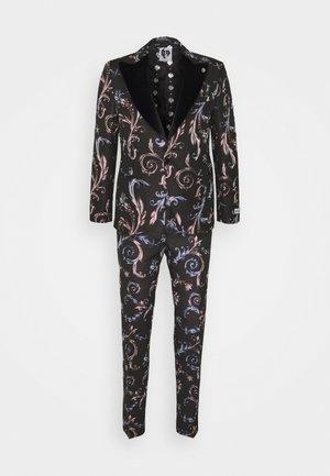 WOOLATON SUIT - Suit - black