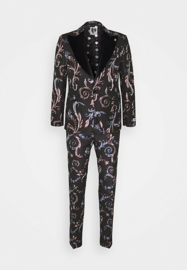 WOOLATON SUIT - Kostuum - black