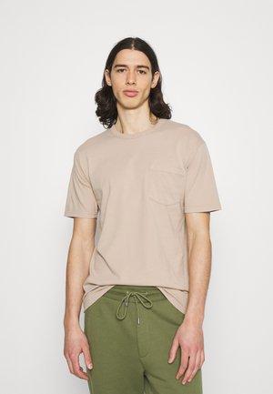 HARIS - Basic T-shirt - beige