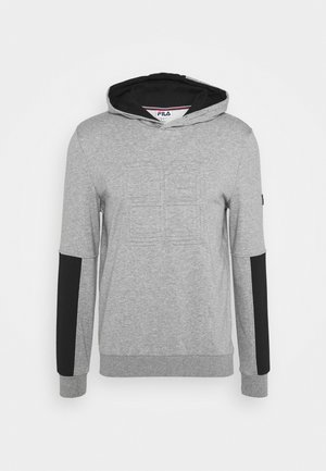 FLO - Bluza z kapturem - light grey merlange