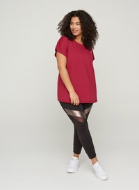 Active by Zizzi - Print T-shirt - red - 1