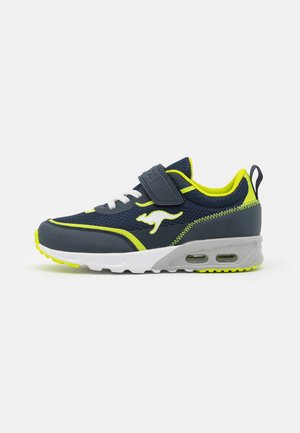 KX-3100 - Sneakers laag - dark navy/lime