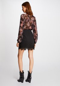 Morgan - WITH LACE - Pencil skirt - black - 2