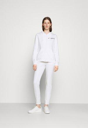 SET - veste en sweat zippée - optical white