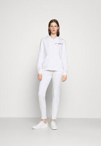 SET - Sweat à capuche zippé - optical white