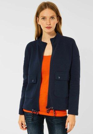 OTTOMAN - Zip-up sweatshirt - blau