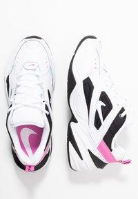 Nike Sportswear - M2K TEKNO - Sneakersy niskie - white/china rose/black - 3