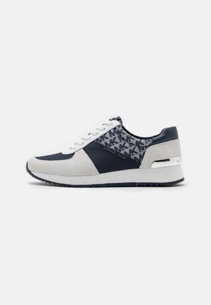 ALLIE TRAINER - Trainers - navy/optic white