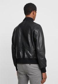 Strellson - CAMDEN - Leather jacket - black - 2