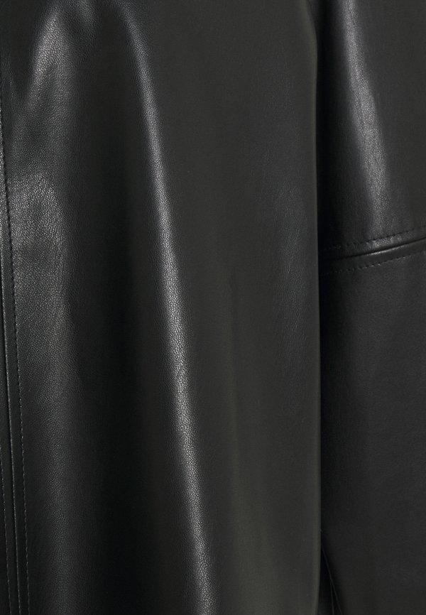 someday. ZEDER - Bluzka - black/czarny OCDB