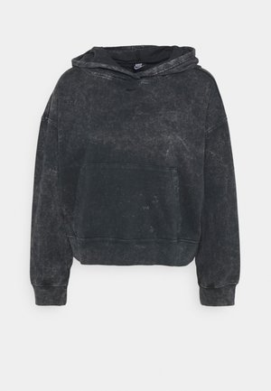 WASH HOODIE - Sweatshirt - black