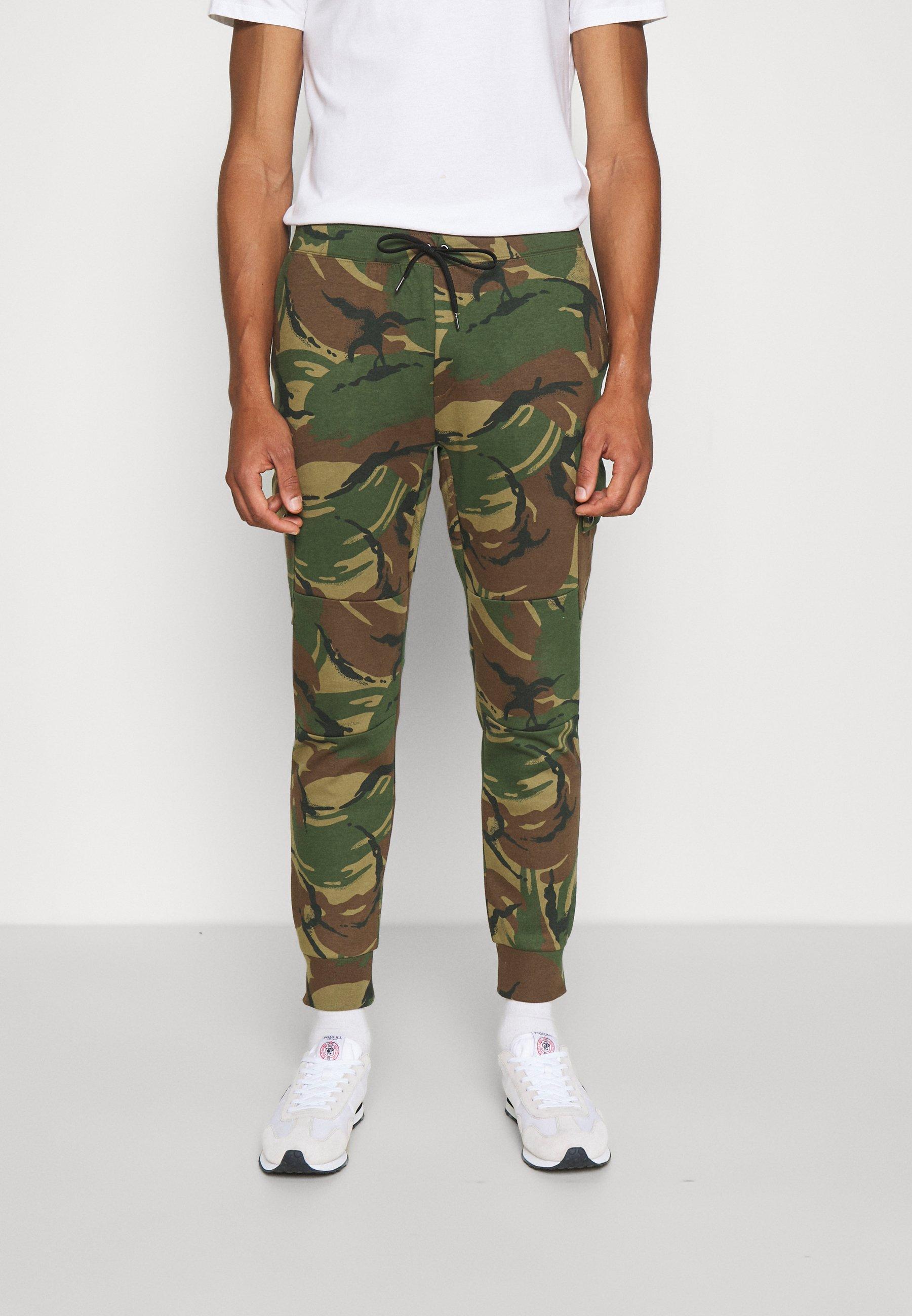 Men ATHLETIC - Cargo trousers - british elmwood