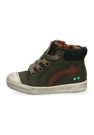 Sneakers hoog - groen