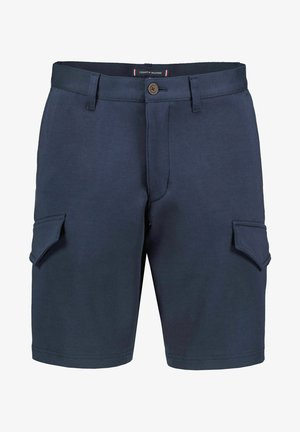 HARLEM RELAXED TAPERED FIT - Shorts - marine