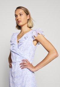 Lauren Ralph Lauren - PRINTED GEORGETTE DRESS - Day dress - whisper blue/colo - 3