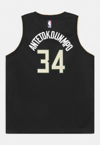 Nike Performance - NBA MILWAUKEE BUCKS GIANNIS ANTETOKOUNMPO UNISEXBOYS STATEMENT SWINGMAN - Klubové oblečení - black - 1