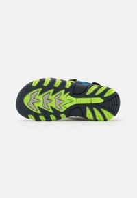 LICO - LUCA - Walking sandals - marine/lemon/blau - 4