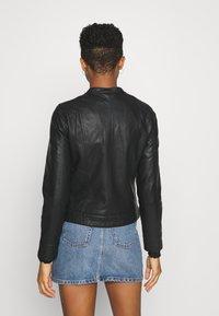 b.young - ACOM JACKET - Faux leather jacket - black - 2