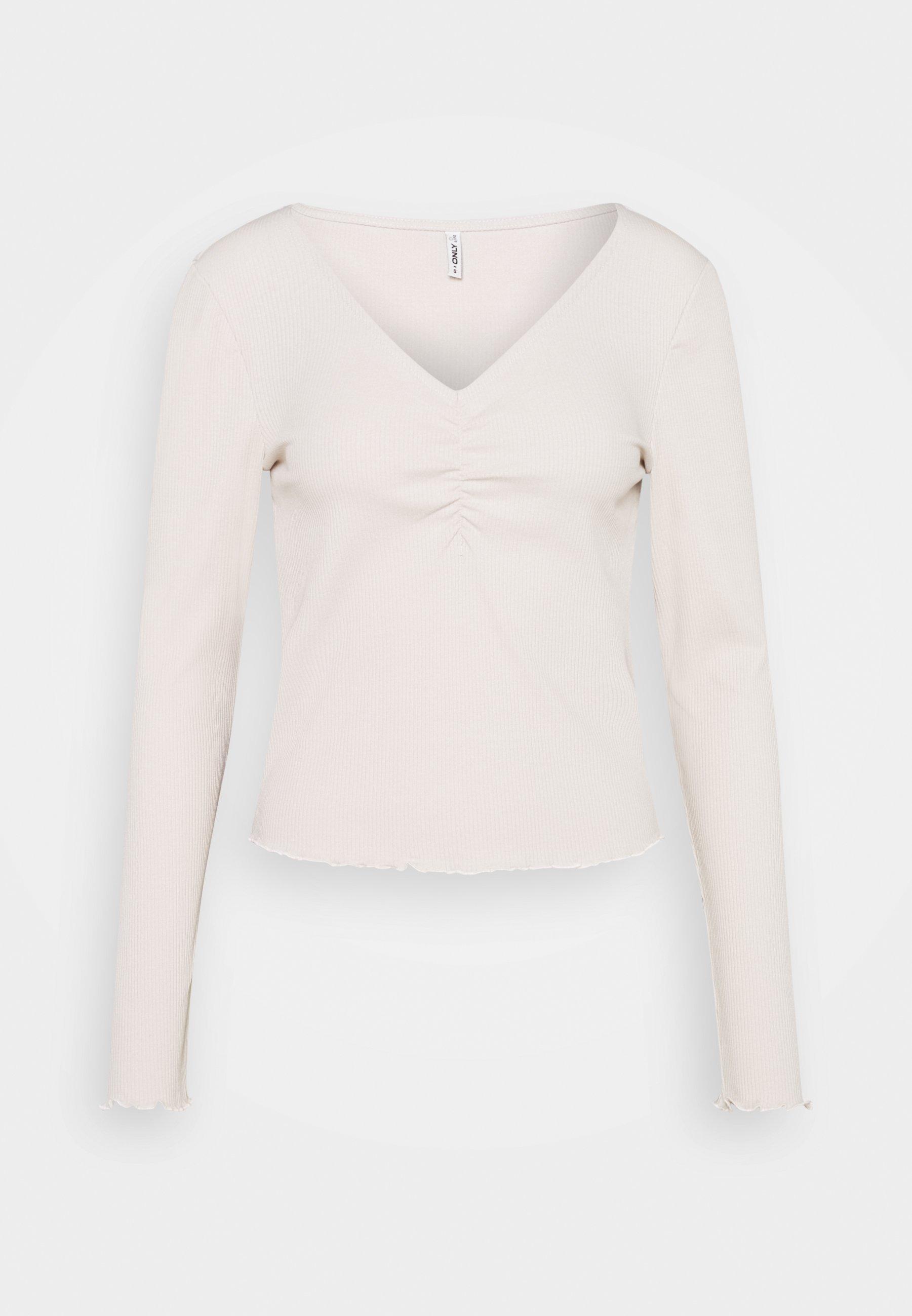 Women ONLNUVELLA LIFE VNECK - Long sleeved top