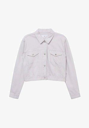 Džínová bunda - lila