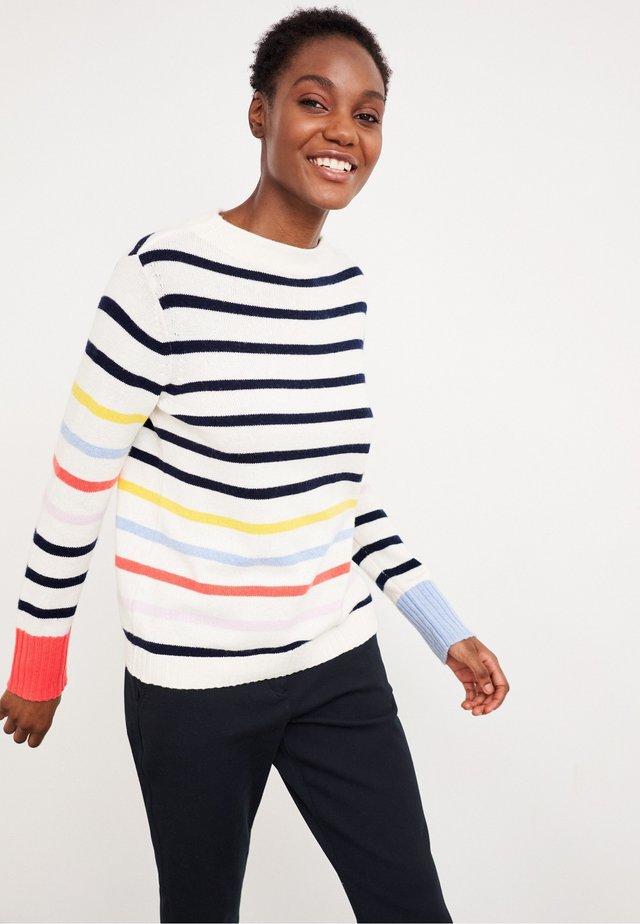 RAINBOW  - Pullover - marineblau mehrfarbig