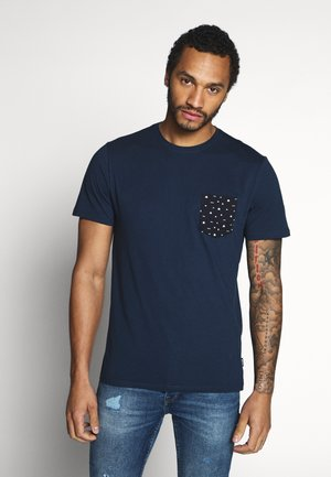 ONSNOVICE TEE - T-shirts med print - dress blues
