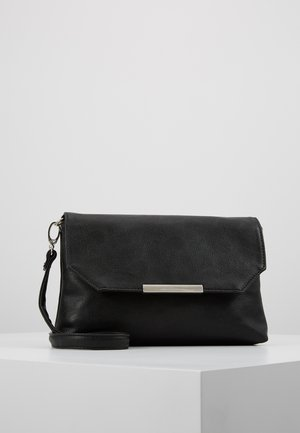 KENZA FLAPBAG - Across body bag - black