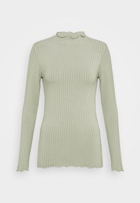 SOLID TRUTTE - Long sleeved top - light army