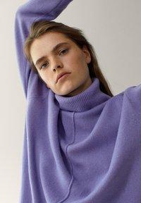 Massimo Dutti - Pullover - dark purple - 2