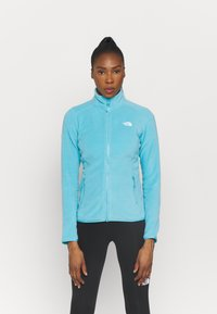 The North Face - GLACIER FULL ZIP - Fleece jacket - maui blue - 0