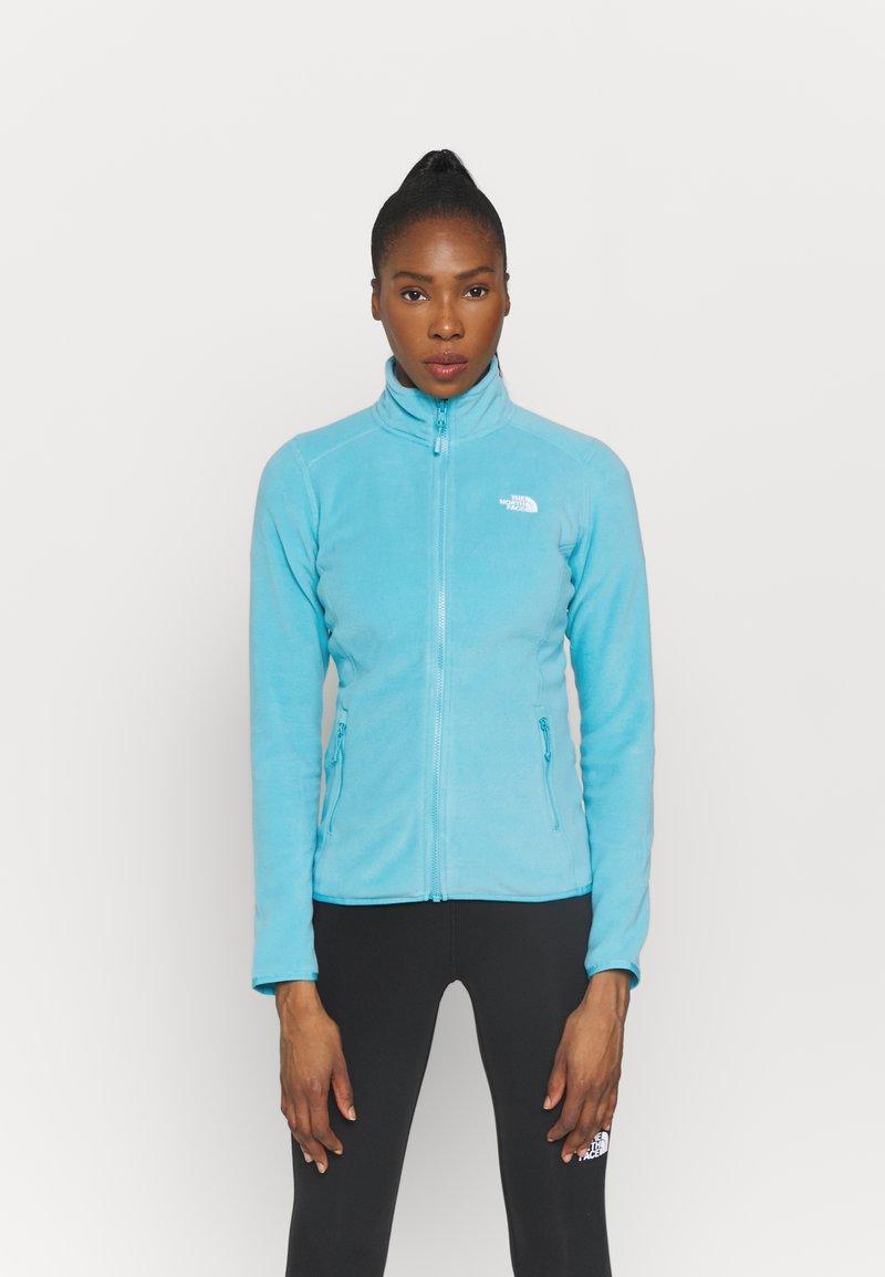 The North Face - GLACIER FULL ZIP - Fleece jacket - maui blue