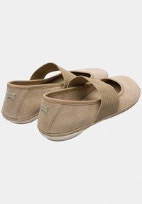 Camper - RIGHT NINA - Ankle strap ballet pumps - beige - 3