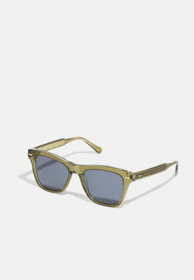 Gucci - UNISEX - Lunettes de soleil - green/blue