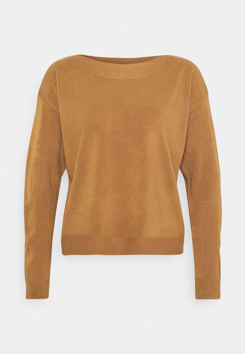 ONLY - ONLAMALIA BOATNECK - Jumper - tobacco brown