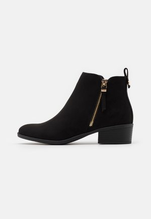 MACRO SIDE ZIP BOOT - Ankle boots - black