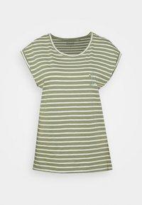 Esprit - TEE - Print T-shirt - light khaki - 4