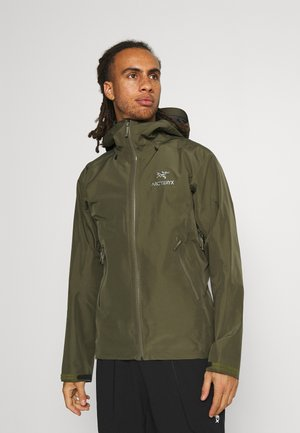 BETA JACKET MENS - Hardshell jacket - dark green