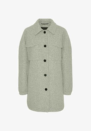 JACKE HEMD - Short coat - mineral gray