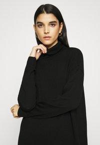 Gestuz - THELMA ROLLNECK - Jumper dress - black - 3