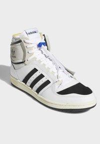 adidas Originals - TOP TEN DE - Sneakers hoog - white - 1