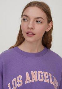 PULL&BEAR - Sweatshirt - purple - 4
