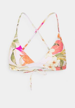 NORTH SHORE CROSS BACK - Bikini top - light pink