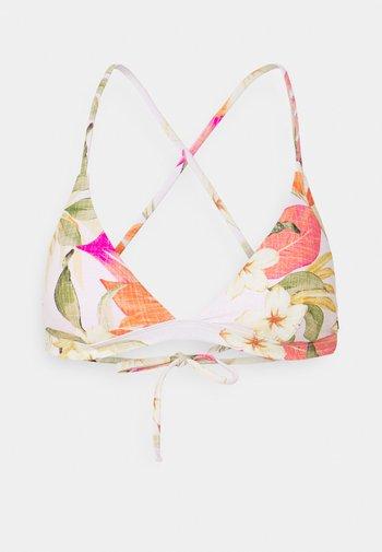 NORTH SHORE CROSS BACK - Bikini top - light pink