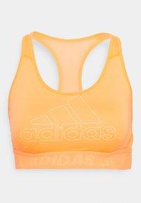 Medium support sports bra - orange
