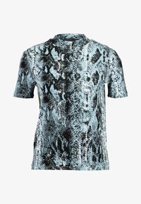 Even&Odd - Print T-shirt -  blue/black - 3
