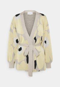 Marimekko - UNEKSUVA UNIKKO CARDIGAN - Cardigan - beige/light yellow/black - 5