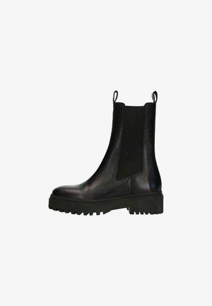 Platform boots - schwarz