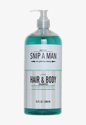 HAIR & BODY SHAMPOO FRESH JUNIPER - Shampoo - -