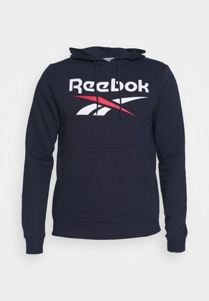 HOODIE - Sweatshirt - vector navy/white/vector red